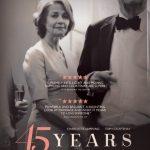 今日の映画 – さざなみ(45 Years)