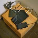 タブレットとスマホの充電環境