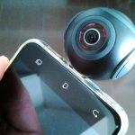 Insta360 Air レビュー(2)セットアップと撮影